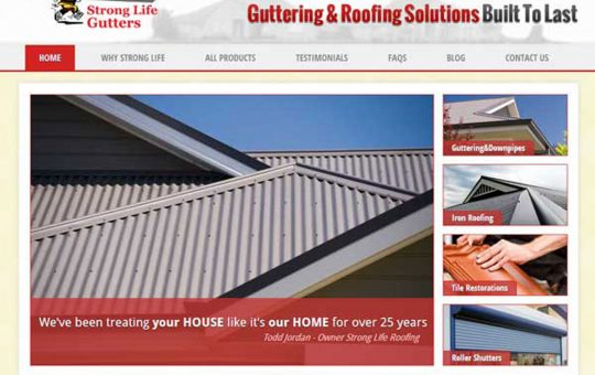 Strong Life Gutters